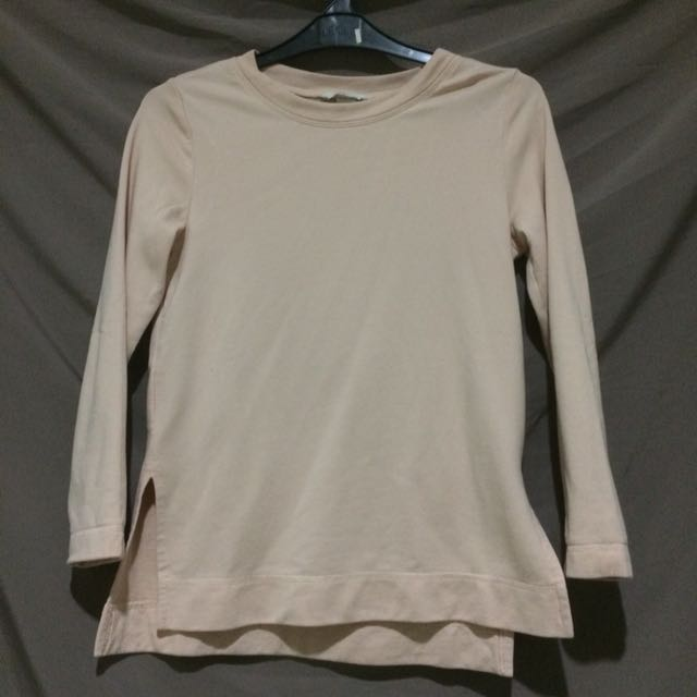 H&M Baby Pink Long Sleeve