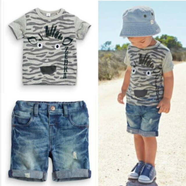 9fafab3a1 Hot Sale Baby Kids Boy Clothes Summer style Short-sleeved T-shirt+ ...