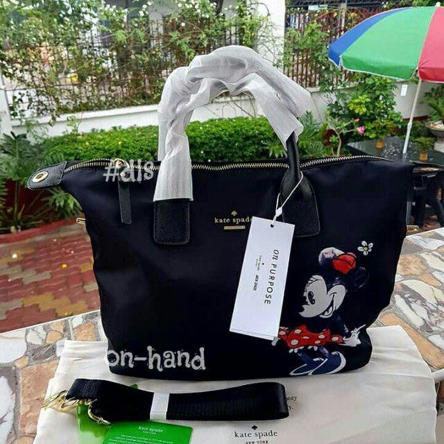 Kate Spade Bag Minnie Mouse Edition