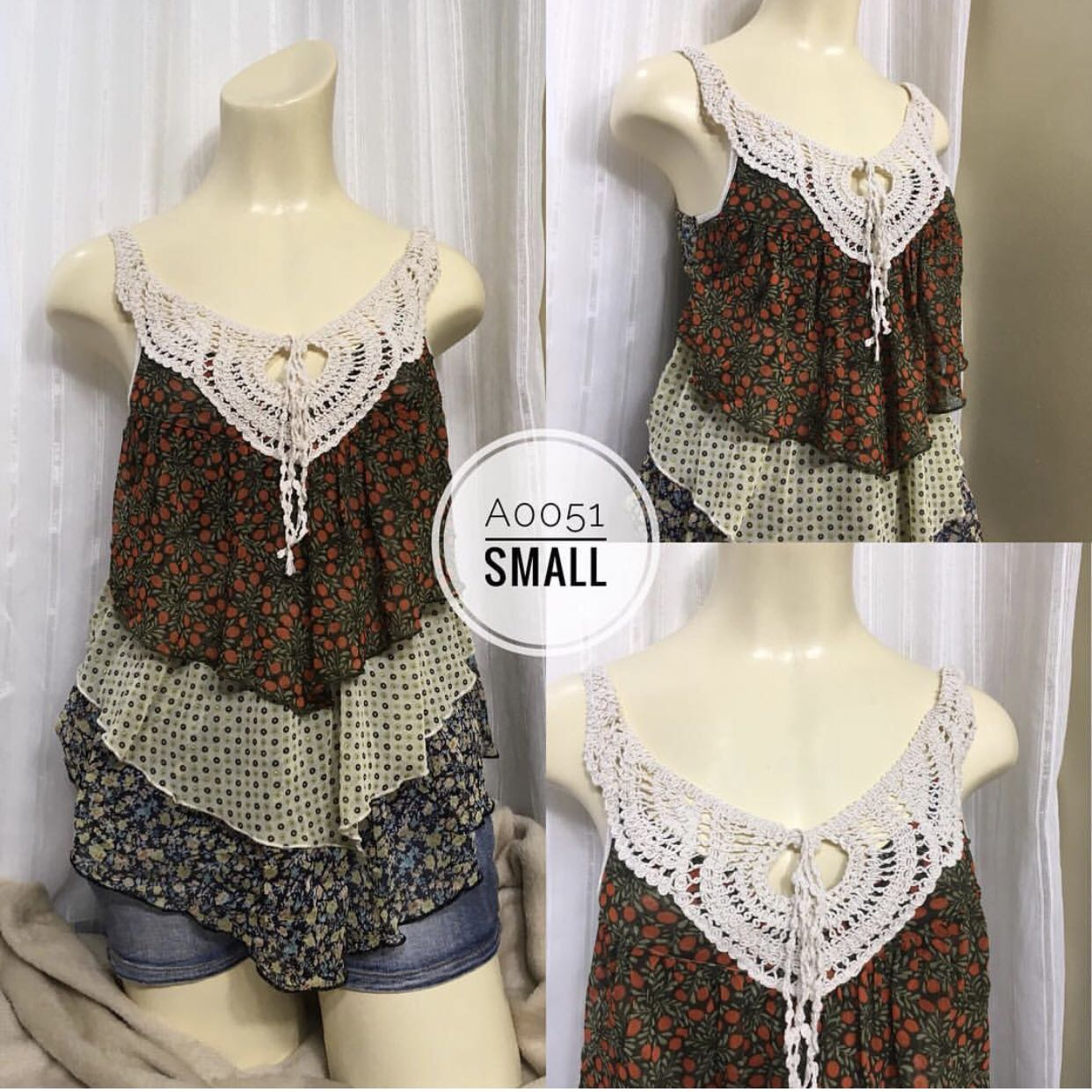 Knitted String Top