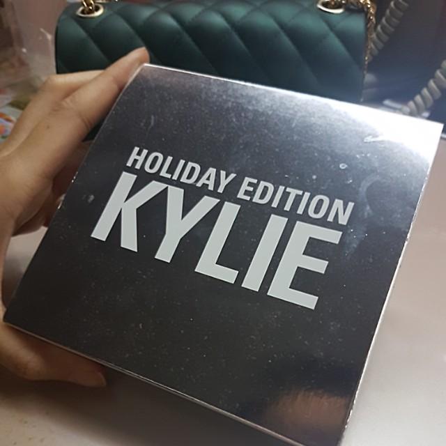 Kylie Matte Lipstick Holiday Edition