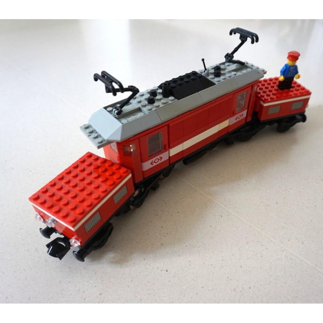 Lego 9v train - Crocodile Locomotive - kit 4551