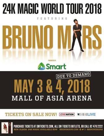 LF Bruno Mars Upper Box (17k for 4)