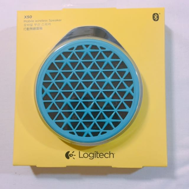 Logitech行動無線音箱 藍牙喇叭 (藍)