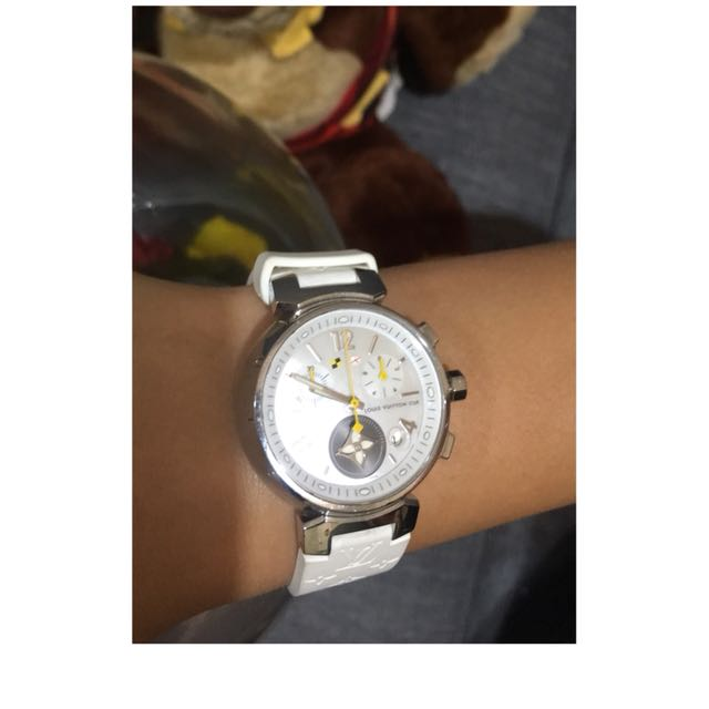 Louis Vuitton watch.