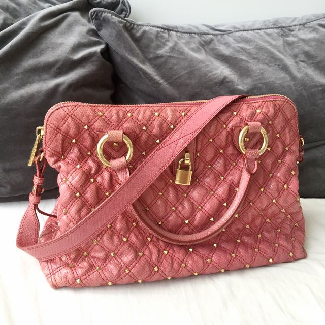 Marc Jacobs Limited Edition Leather Quilted Bag