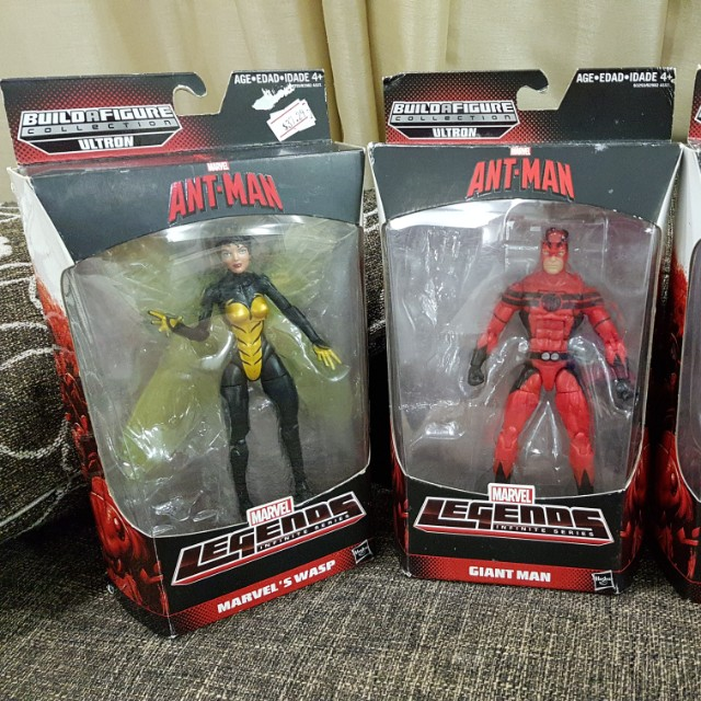 Marvel ANT-MAN Buildafigure Collections