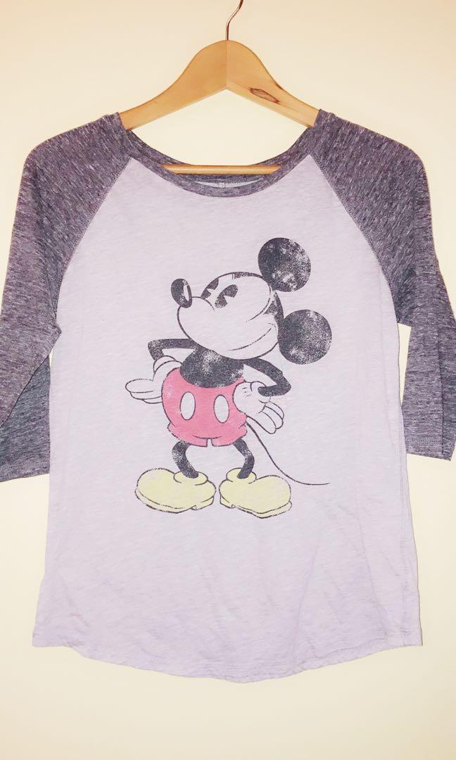 Mickey Mouse raglan