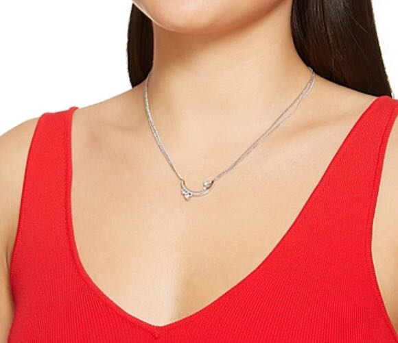 Mimco silver necklace - tags attached