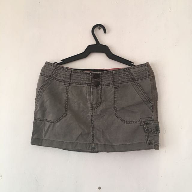 Mossimo Cargo Mini Skirt