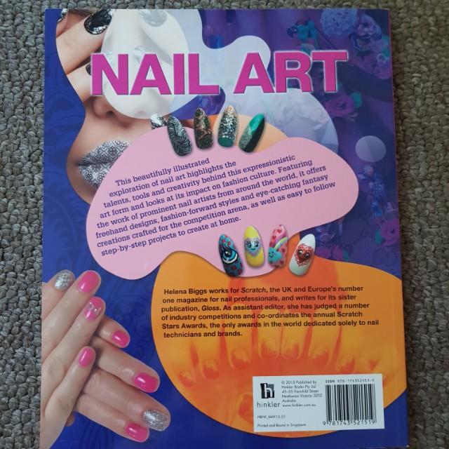 Nail Art Magazine Books Stationery Magazines On Carousell