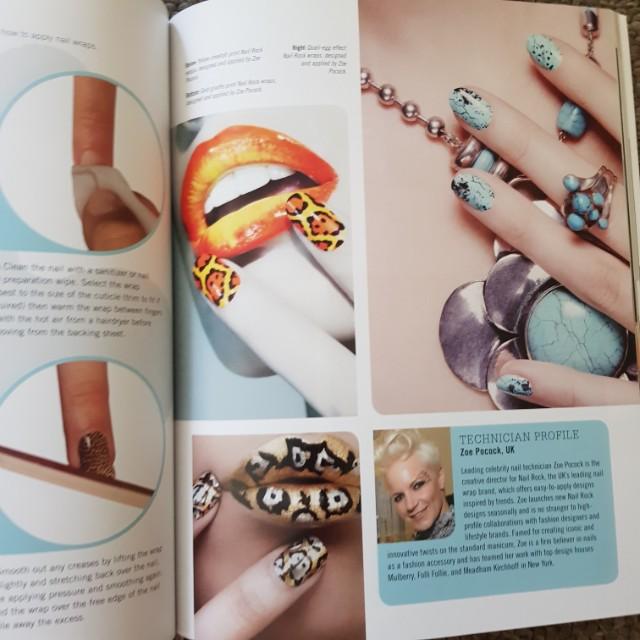Nail Art Magazine, Books & Stationery, Magazines on Carousell