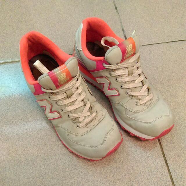 正版!!!NB574撞色運動鞋🎊