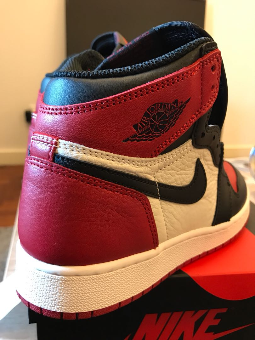 43cfedd032b21e Nike Air Jordan 1 Retro High OG (Bred Toe)