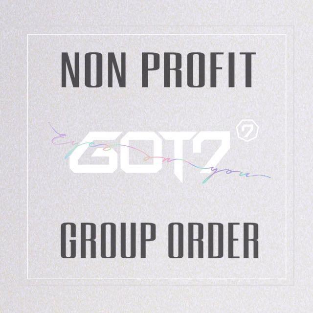 [NON PROFIT GO] GOT7 Eyes On You Album