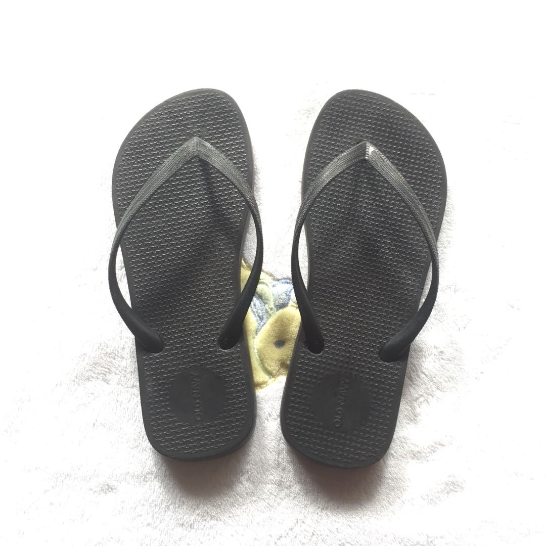 Old Navy Slippers (Black)
