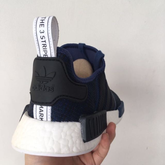 info for 362c2 65c63 ... new zealand original adidas nmd r1 mystery core blue mens fashion  footwear on carousell 64570 2b88c