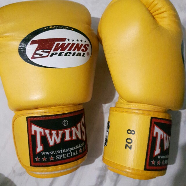 Original Twins Special leather gloves 8oz.