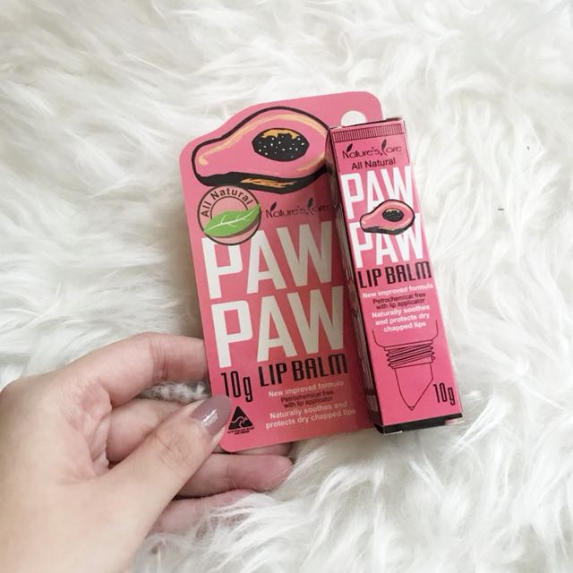 Paw Paw Lip Balm