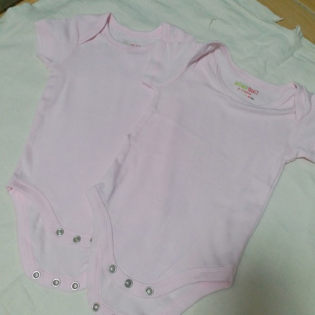 04c31ddf7eb9 Pink Onesies for 0-3mos baby