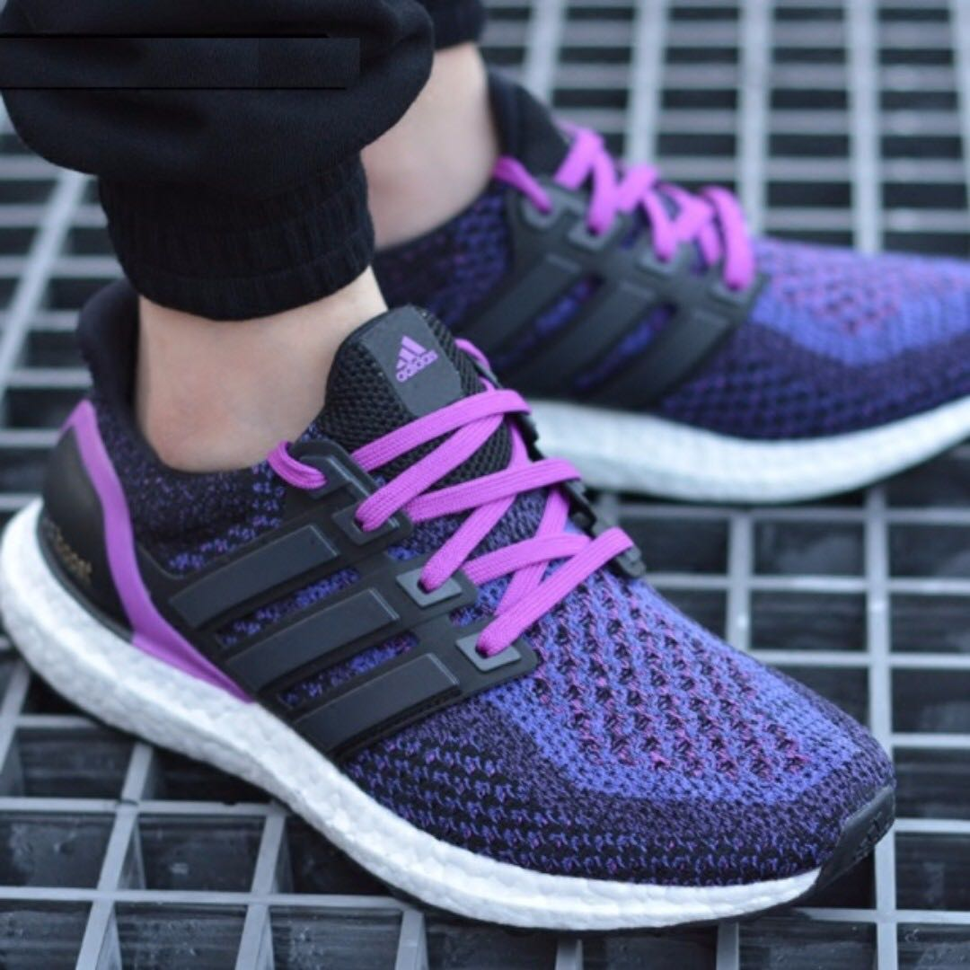 half off 1b5bd d32fc ... authentic po adidas womens ultra boost 2.0 gradient purple bulletin  board preorders on carousell 6f58c 2ec33