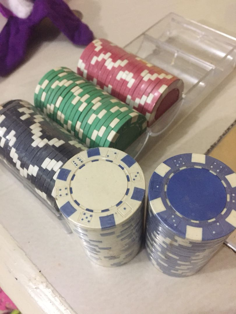 Poker Chips 100 pieces