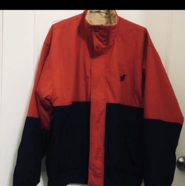 爸爸衣櫃👨復古polo雙面外套/限時特價