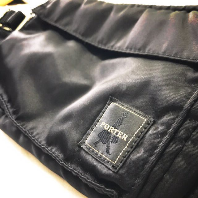 Porter international 黑色腰包
