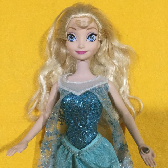 Preloved Elsa Doll