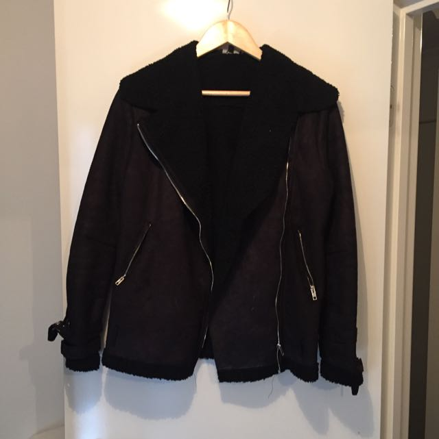 Pretty Little Thing Aviator Jacket