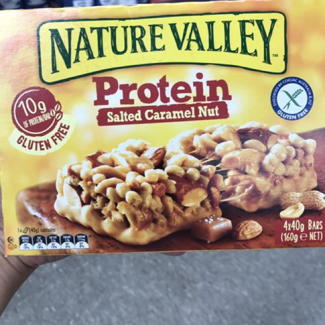 Protein Salted Caramel Nut