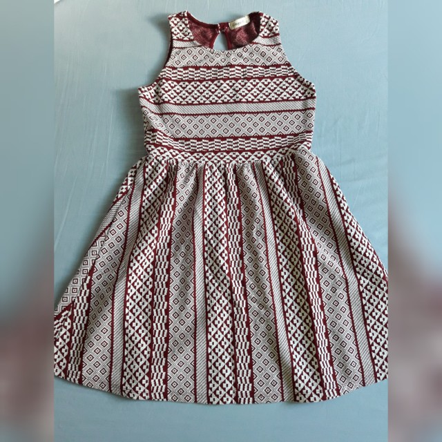 Red Casual Dress - xs to s