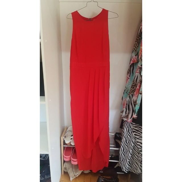 Red Evening dress size 14