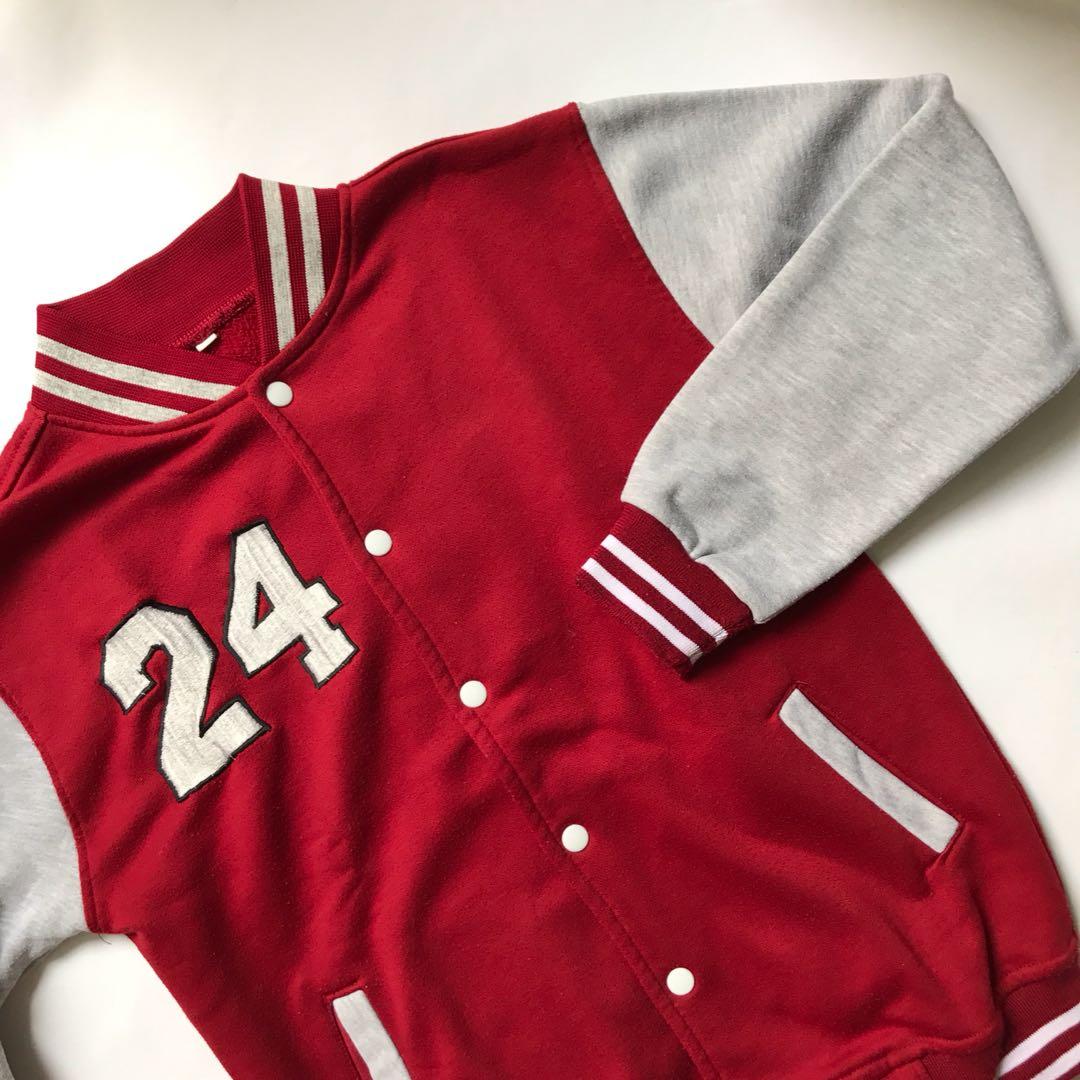 Red Varsity (Unbranded) Not H&M, ZARA, Pull&Bear
