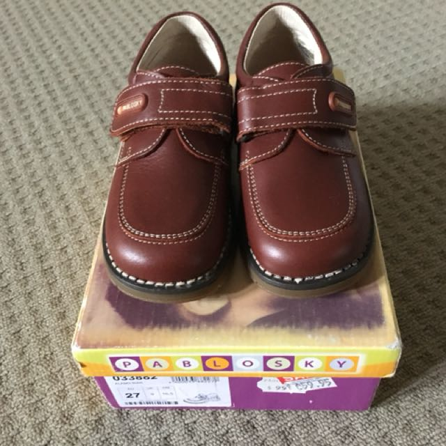 REDUCED Boys Leather Shoes - Brand New