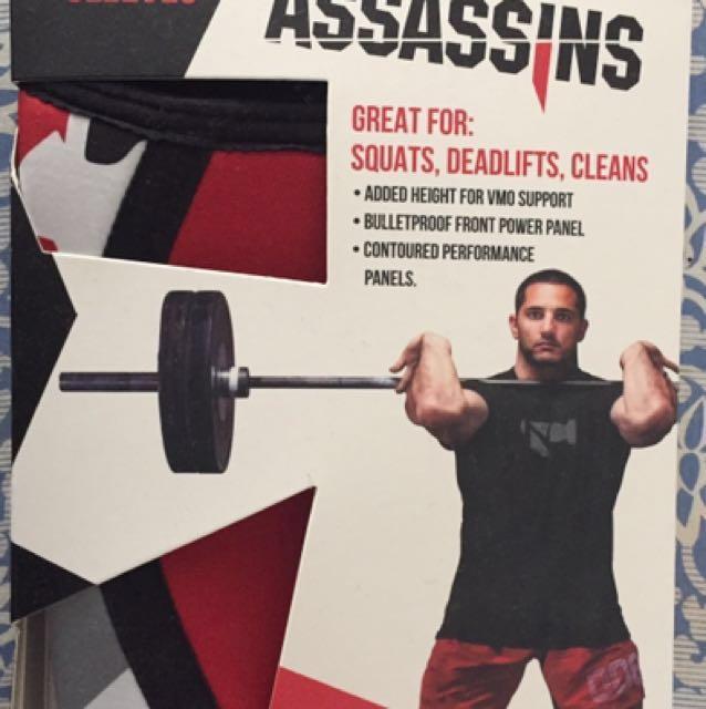 dd07b1049a Rocktape Assassins Knee Sleeve - Red Camo XL, Sports, Sports & Games ...