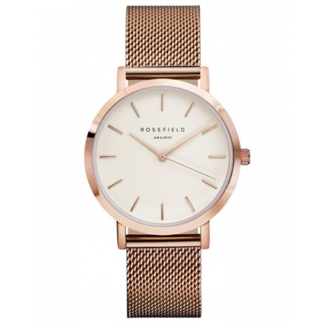 Rosefield gold watch
