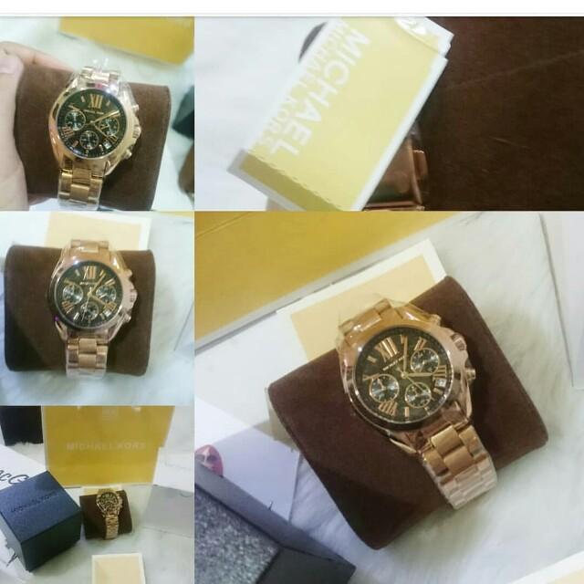 Rosegold women size mk watch