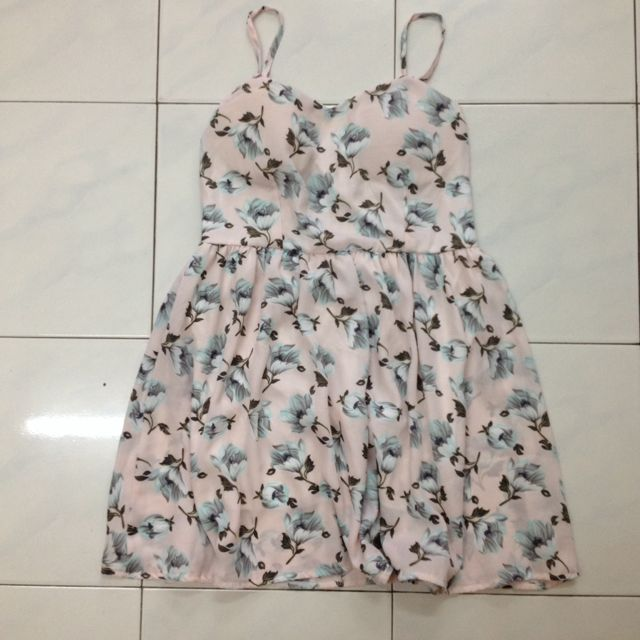 [RS] Floral Busted Dress