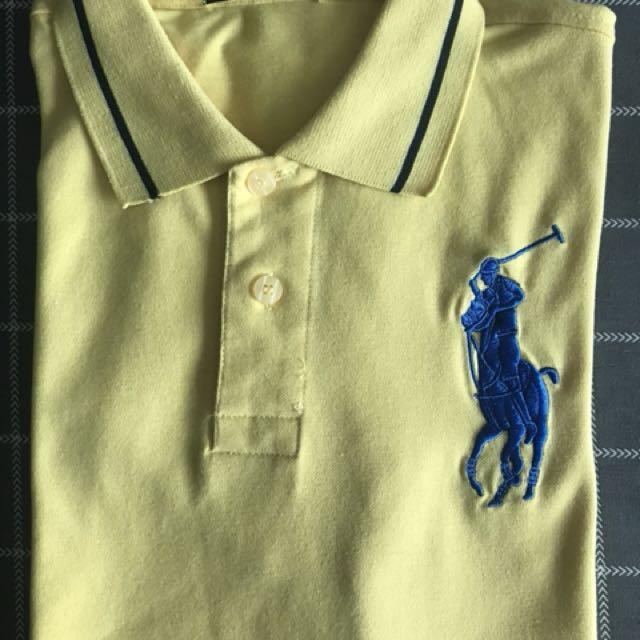 SALE !SALE! Ralph Lauren POLO Shirt Med Yellow