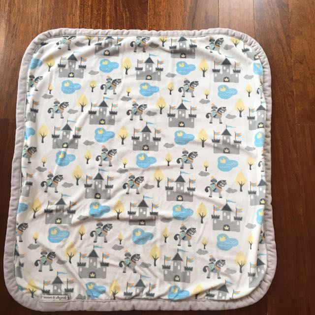Selimut baby boy super lembut merk blankets & beyond