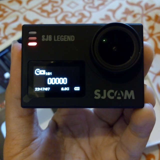 SJ6 LEGEND with dual charger & batteries