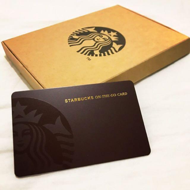 Starbucks 星巴克 經典女神二代隨行卡 咖啡色