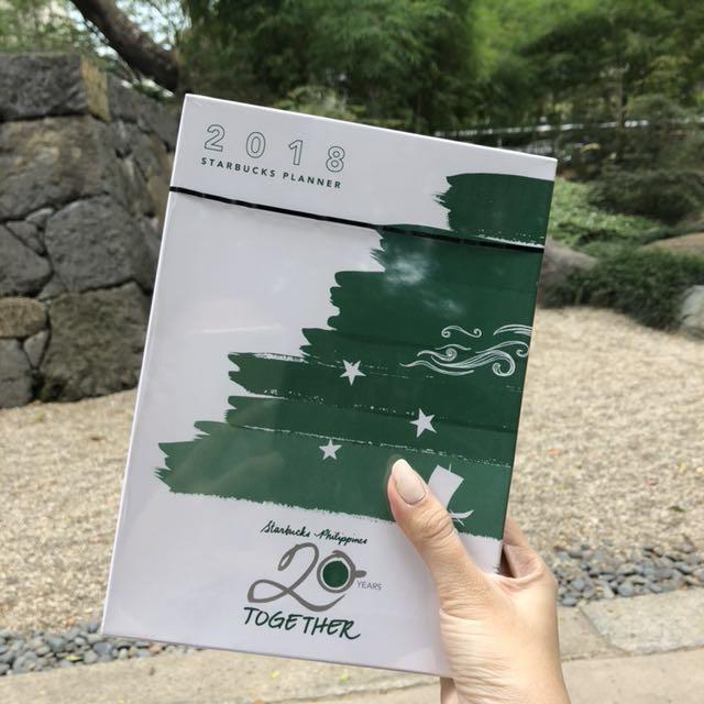 Starbucks Planner 2018 SEALED