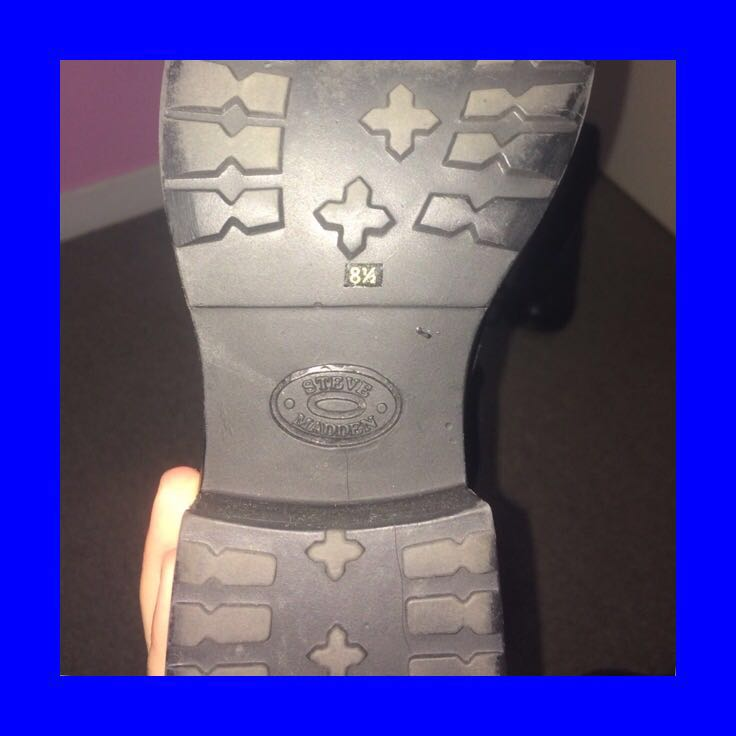 steve madden rad ass leather boots!!!