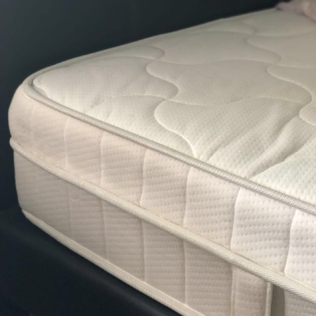 Super Single Bed Frame Latex Mattress Furniture Beds