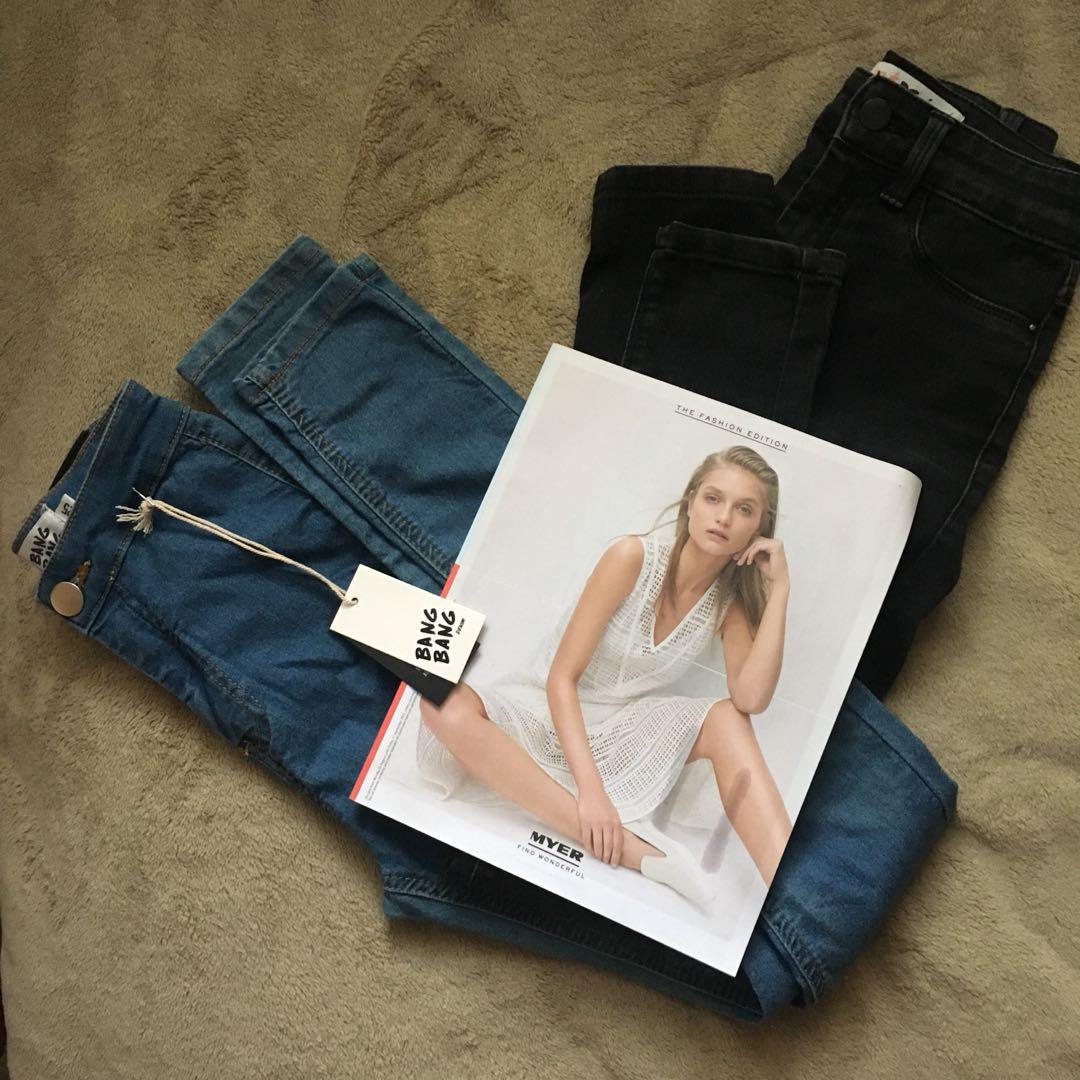 Supre black skinny jeans