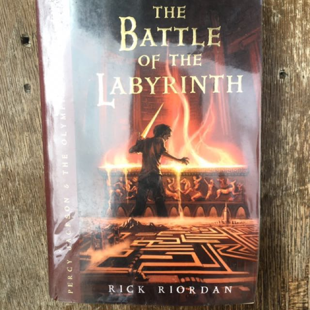 The Battle Of The Labyrinth (Percy Jackson Series) by Rick Riordan