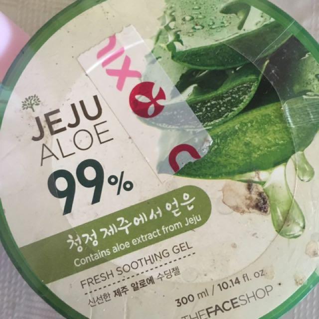 The Gace Shop Jeju Aloe + Free Ponds Toner