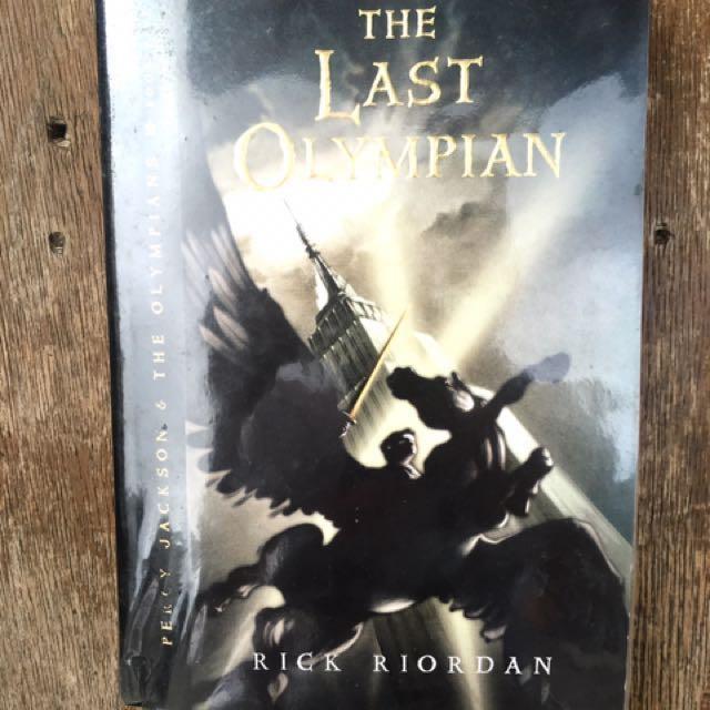 The Last Olympian (Percy Jackson Series) by Rick Riordan